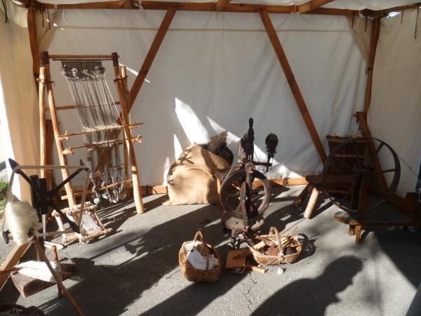 visite,patrimoine,histoire,culture,murviel les montpellier,exposition,tisserand,forgeron
