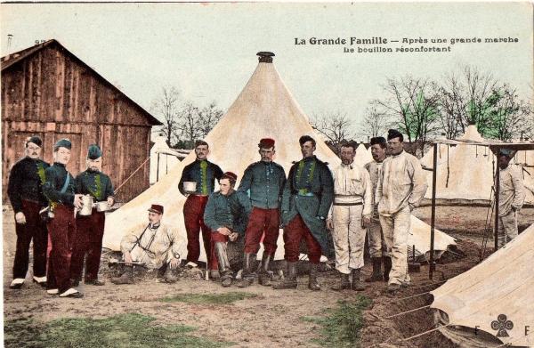 cartes postales, cartes militaires, armée, classe 1906, histoire, humour