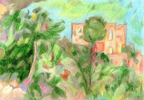 peinture, aquarelle, pastel, dessin, loisirs, canicule
