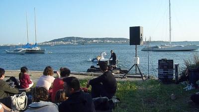 spectacle,musique,artistes,napolitain,représentation,piano,lac,mer