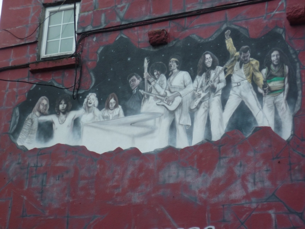 voyage,irlande,tourisme,fresque,dessin,croquis