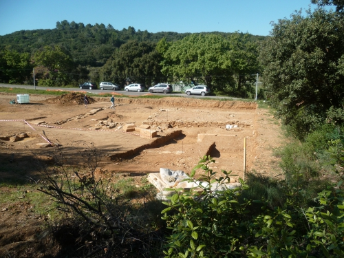 histoire,murviel les montpellier,archéologie,fouilles,culture