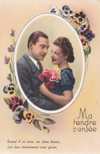 cartes,voeux,amour,amitié,cartes de voeux,cartes anciennes